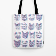 Trippy Cats Tote Bag
