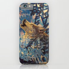 THE WOLF HOWLED AT THE STAR FILLED NIGHT Slim Case iPhone 6s