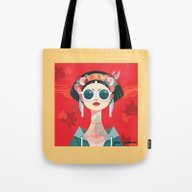 See No Evil Tote Bag