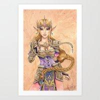 Hyrule Valor Art Print