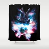 Drop Shower Curtain