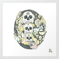 D ( O N E ) Art Print