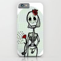 iPhone & iPod Case featuring Love and bones by giuditta matteucci