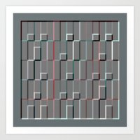 Squares And Rectangles 2 Art Print
