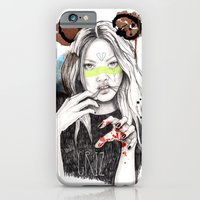 iPhone & iPod Case featuring Griz by Meegan Barnes