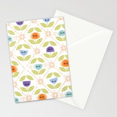 Mod Flowers Stationery Cards