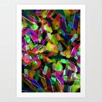 Geometric Puzzel Art Print