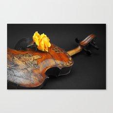 La música Canvas Print