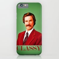 iPhone & iPod Case featuring CLASSY by John Medbury (LAZY J Studios)