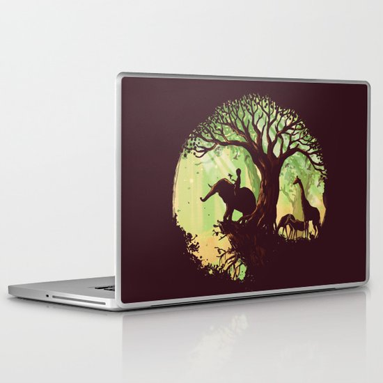 The jungle says hello Laptop & iPad Skin