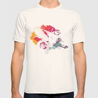 Bird Of Colour Mens Fitted Tee Natural SMALL