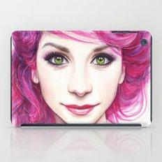 Pink Hair iPad Case