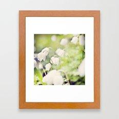 Spring miracles Framed Art Print