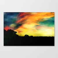 A Dreamscape Revisited Canvas Print