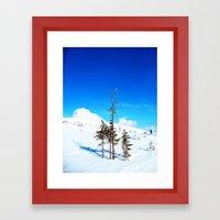 Still winter  (easter in Norway 2013) Framed Art Print