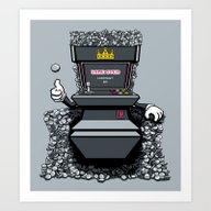 Throne Of Games Art Print