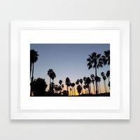 Santa Barbara  Framed Art Print
