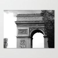 L'arc De Triomphe 2 Canvas Print