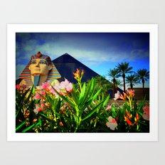 Luxor, Las Vegas Art Print