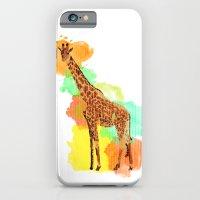 GIRAFFE: THE GENTLE GIANT iPhone 6 Slim Case