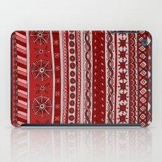 Yzor pattern 005 red iPad Case