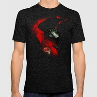 The Godslayer Mens Fitted Tee Tri-Black SMALL