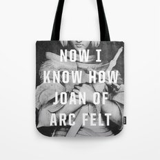 Joan of Arc Tote Bag