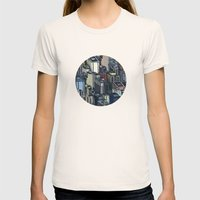 In The City Womens Fitted Tee Natural SMALL