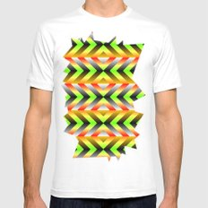 Electric Mens Fitted Tee White SMALL