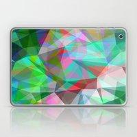 Green Crystal Depth Laptop & iPad Skin