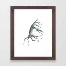 how peculiar Framed Art Print