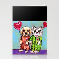 Tiny Pajama Party Stationery Cards