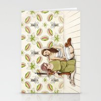 The Cost Of Protection Stationery Cards