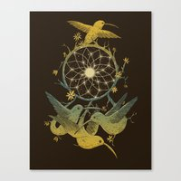 Dreamcatching Canvas Print