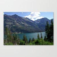 Glacier National Park Saint Mary's Lake Overlook Canvas Print