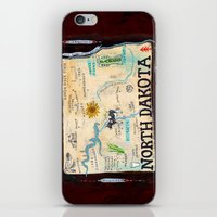 NORTH DAKOTA iPhone & iPod Skin