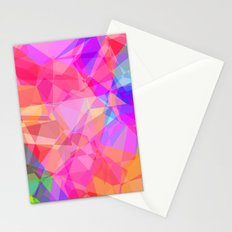 Color Fractal Stationery Cards