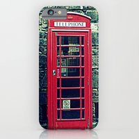 Red Telephone Boxes iPhone 6 Slim Case