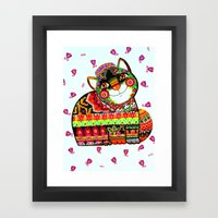 Tatar cat Framed Art Print