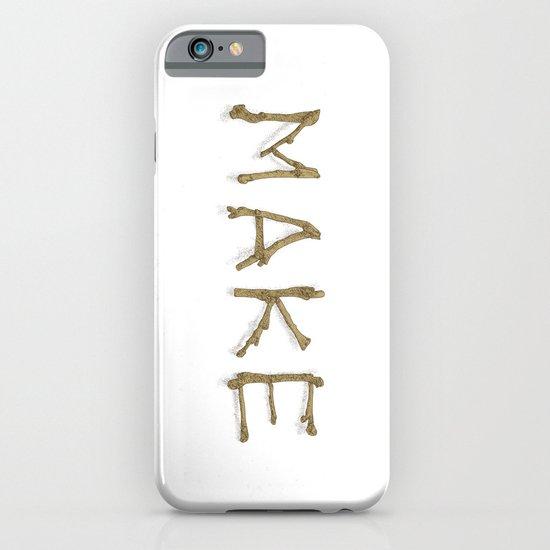 Make iPhone & iPod Case