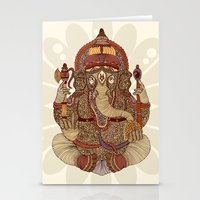 Ganesha: Lord of Success Stationery Cards