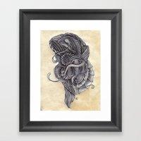 Lifeform 2S9-378 Framed Art Print