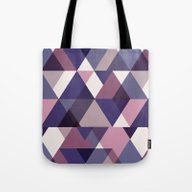 Jewel Cut Geometric Tote Bag
