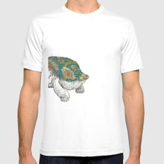 Tortoise White Mens Fitted Tee SMALL
