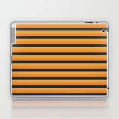 Pumpkin Stripe Laptop & iPad Skin