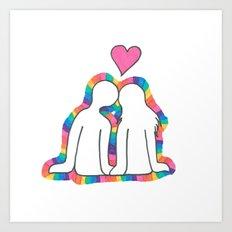 Valentines Day! Art Print