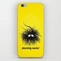 SHAVING SUCKS iPhone & iPod Skin