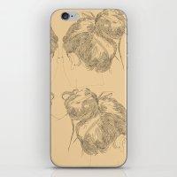 Chignon iPhone & iPod Skin