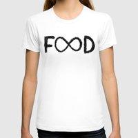 food T-shirts featuring FOOD by Sara Eshak
