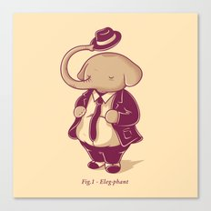 Eleg-phant Canvas Print